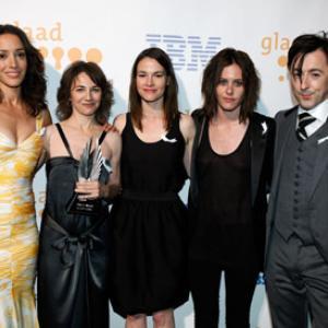 Jennifer Beals, Alan Cumming, Ilene Chaiken, Leisha Hailey and Katherine Moennig
