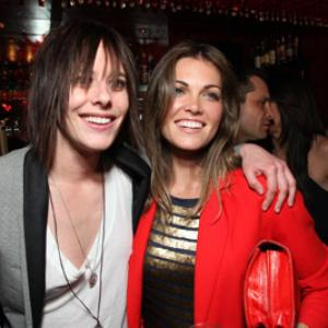 Katherine Moennig and Kate French at event of The L Word (2004)