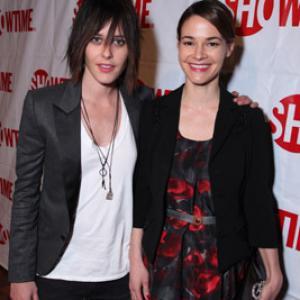 Leisha Hailey and Katherine Moennig