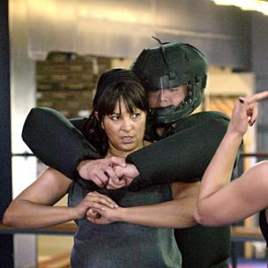 Still of Pam Grier and Katherine Moennig in The L Word (2004)