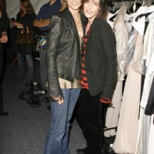 Alexandra Hedison and Katherine Moennig