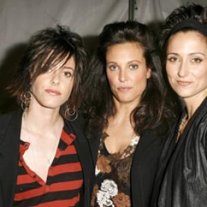 Erin Daniels, Alexandra Hedison and Katherine Moennig