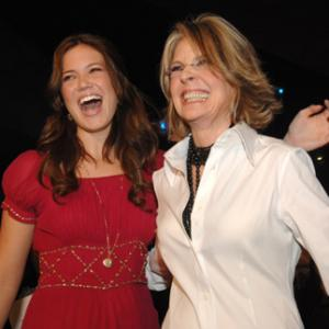Diane Keaton and Mandy Moore at event of Because I Said So 2007
