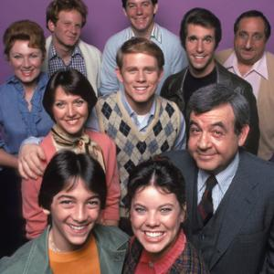 Ron Howard, Scott Baio, Henry Winkler, Marion Ross, Tom Bosley, Al Molinaro, Erin Moran, Don Most, Anson Williams