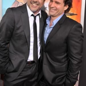 Jason Patric and Jeffrey Dean Morgan at event of The Losers 2010