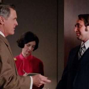 Vincent Kartheiser, Mark Moses
