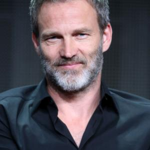 Stephen Moyer at event of The Bastard Executioner (2015)
