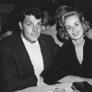Ciros NightclubDale Robertson and Mary Murphy enjoy an evening together at one of their favorite night spots HD Hovers glamorous Ciros  Hollywood CA1954