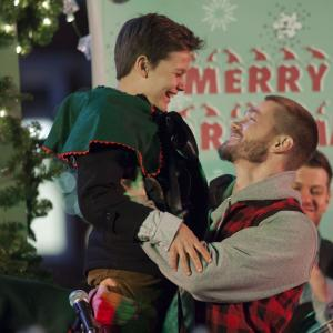 Still of Chad Michael Murray and Noah Urrea in A Madea Christmas (2013)