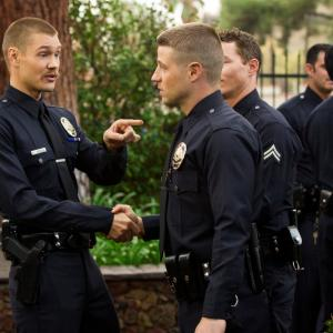 Still of Chad Michael Murray and Ben McKenzie in Southland (2009)
