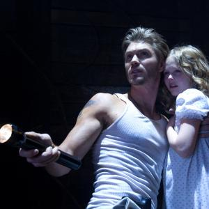 Still of Chad Michael Murray and Emily Alyn Lind in The Haunting in Connecticut 2: Ghosts of Georgia (2013)