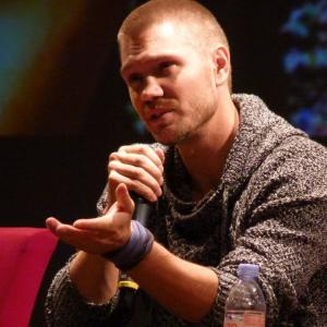Chad Michael Murray at Back To OTH convention, Nimes France