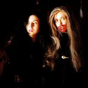 Still of Katharine Isabelle and Emily Perkins in Ginger Snaps Back The Beginning 2004