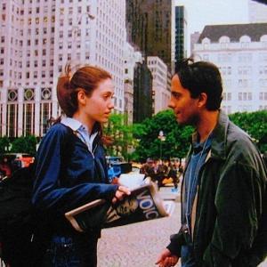 with Emmy Rossum in Nola