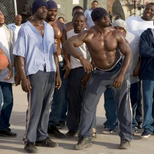 Still of Terry Crews, Nelly and Michael Irvin in The Longest Yard (2005)
