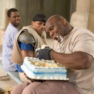 Still of Chris Rock, Nelly and Bob Sapp in The Longest Yard (2005)
