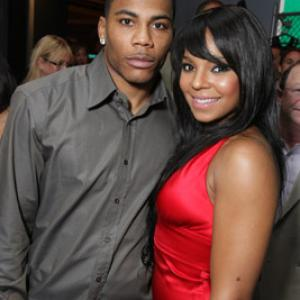 Nelly and Ashanti at event of Absoliutus blogis: isnykimas (2007)
