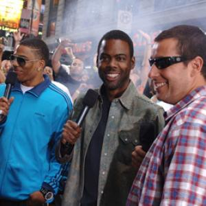 Adam Sandler, Chris Rock and Nelly at event of Total Request Live (1999)
