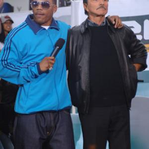 Burt Reynolds and Nelly at event of Total Request Live (1999)