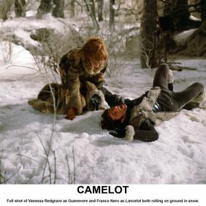 Still of Vanessa Redgrave and Franco Nero in Camelot 1967
