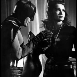 Batman Adam West and Julie Newmar 1966 ABC