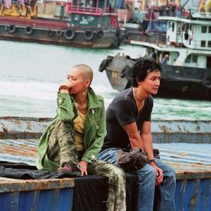 Still of Jing Ning and Daniel Wu in Saam cha hau 2005