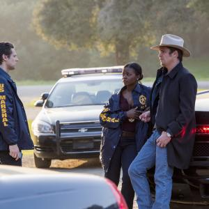 Timothy Olyphant, Jacob Pitts, Erica Tazel