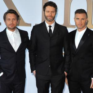 Gary Barlow, Mark Owen, Howard Donald