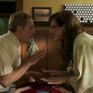 Still of Allison Janney and Josh Pais in Touchy Feely 2013