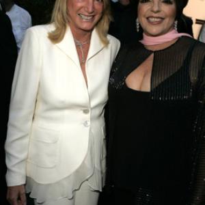 Liza Minnelli and Joan Parker