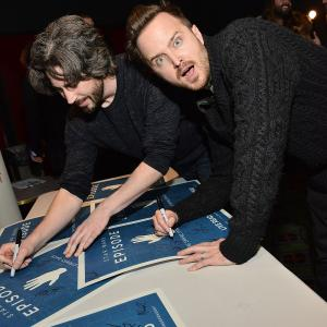Aaron Paul, Jason Reitman
