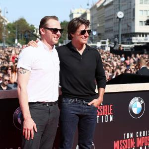 Tom Cruise, Simon Pegg