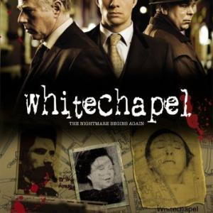 Philip Davis Steve Pemberton and Rupert PenryJones in Whitechapel 2009