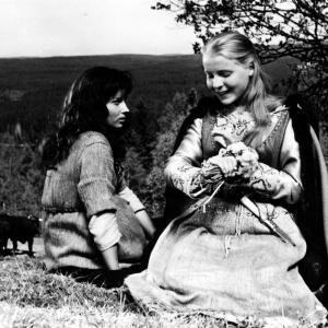 Still of Birgitta Pettersson in Jungfrukaumlllan 1960