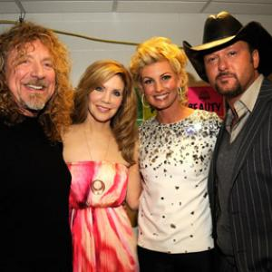 Faith Hill, Tim McGraw, Alison Krauss, Robert Plant