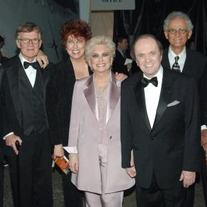Peter Bonerz, Bill Daily, Bob Newhart, Suzanne Pleshette, Tom Poston, Marcia Wallace