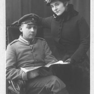Erich  Gertrud Pommer 1915