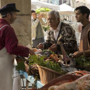 Om Puri, Manish Dayal