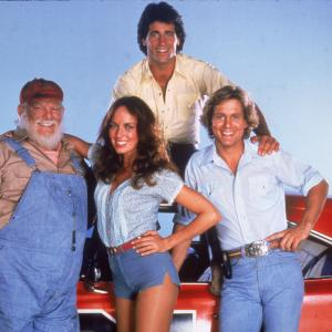 Catherine Bach, Byron Cherry, Christopher Mayer, Denver Pyle