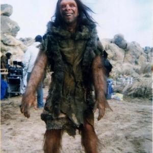 Budwiser cave man