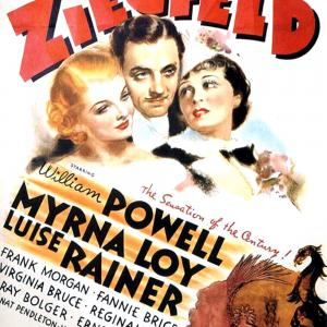Myrna Loy, William Powell, Luise Rainer