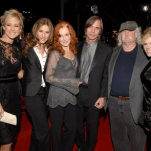 David Crosby, Jackson Browne, Natalie Maines, Bonnie Raitt, Emily Robison and Martie Maguire