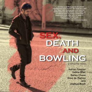 Melora Walters, Bailey Chase, Selma Blair, Adrian Grenier, Drea de Matteo, Mary Lynn Rajskub and Richard Riehle in Sex, Death and Bowling (2015)