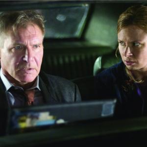 Still of Harrison Ford and Mary Lynn Rajskub in Firewall (2006)