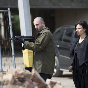 Still of Mary Lynn Rajskub and Branko Tomovic in 24: Live Another Day (2014)