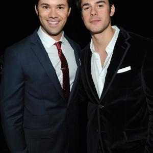 Andrew Rannells and Jayson Blair at event of The New Normal (2012)