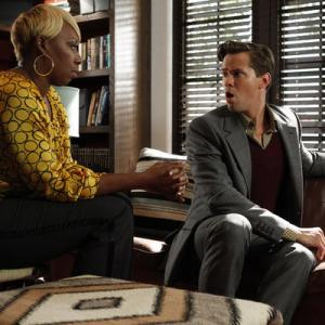 Still of Andrew Rannells and NeNe Leakes in The New Normal (2012)