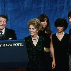 Ronald Reagan, Nancy Reagan, Patti Davis, Ron Reagan