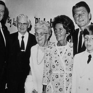 John Wayne, Ronald Reagan, Nancy Reagan, Ron Reagan