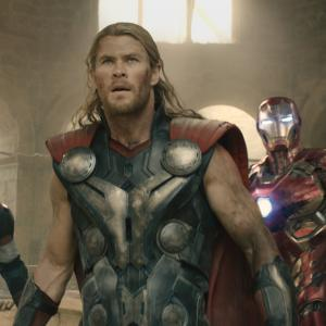 Chris Evans, Scarlett Johansson, Jeremy Renner, Chris Hemsworth